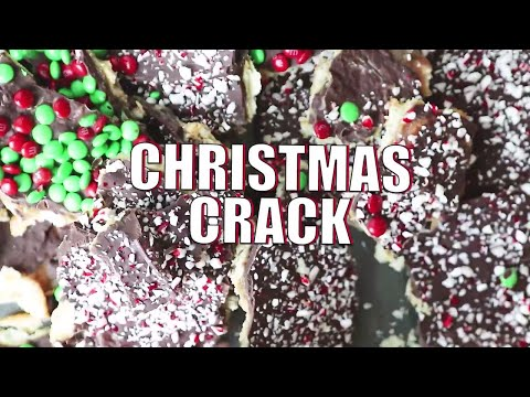 Christmas Crack Recipe Ritz Cracker Toffee Saltines  Brickle