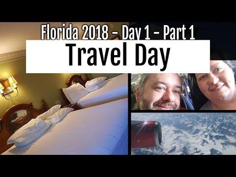 Walt Disney World - 2018 : Day 1 Part 1 - Travel Day