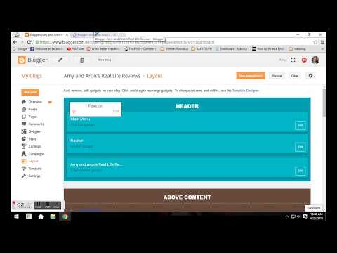 How to Add New Tabs in Blogger