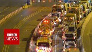 Retired UK ambulances saving lives in Syria - BBC News