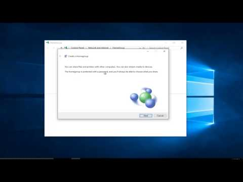 How To Create A Homegroup - Windows 7/8/10