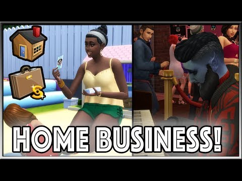 Run A Home Business Mod! (DAYCARE, CLUBS & More!) | The Sims 4 (Created by LittleMsSam)