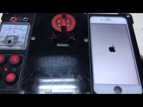 iPhone 6S A9 CPU testing jig A9 CPU Good Bad test fixture