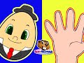 Finger Family Humpty Dumpty Simple English Song Nursery Rhym