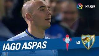 Golazo de Iago Aspas (1-0) Celta de Vigo vs Málaga CF