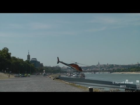 Dráva Heliport 2013 - AS-355 and SA-318 movements