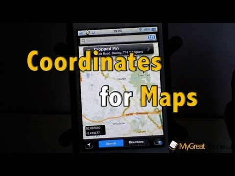 Coordinates for Maps
