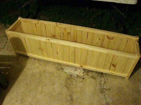 Build expensive-looking Planter Box for cheap