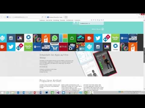 Windows Phone 8.1 App Development - Von der Idee zur App