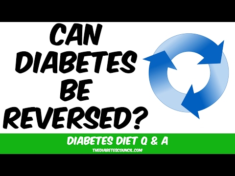 Can Diabetes Type 1 Or Type 2 Be Reversed