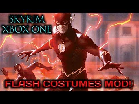 Skyrim SE - Flash & Speedsters Costumes MOD [XB1]