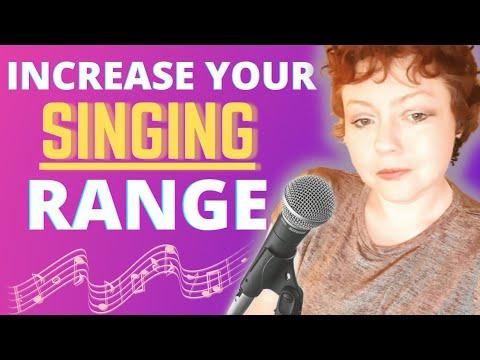 Singing: Easily Increase Your Range