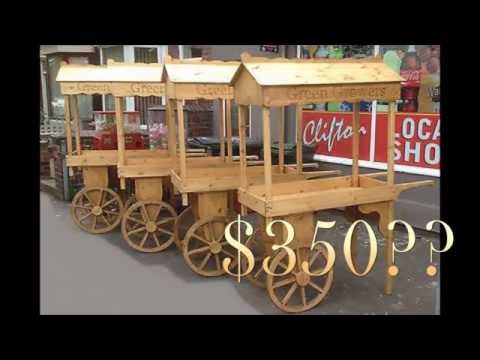 T2T: Fruit Cart ( Part 1:  Making the Wagon Wheels)