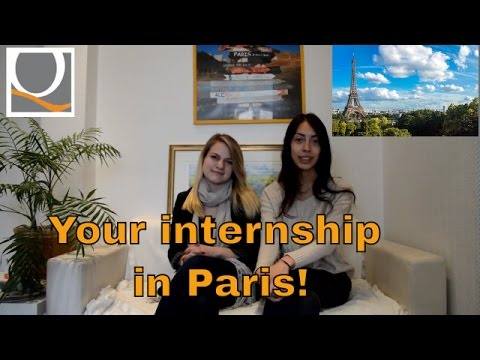 Your internship in Paris! Advices from participants