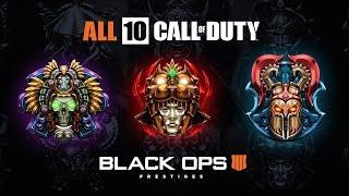 All 10 Prestige Emblems in Black Ops 4