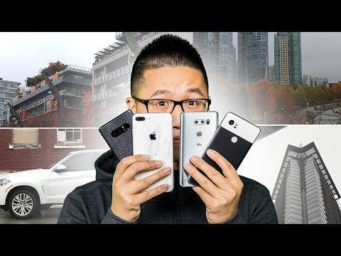 Pixel 2 XL vs iPhone 8+ vs Note8 vs LG V30 - Smartphone Camera Showdown