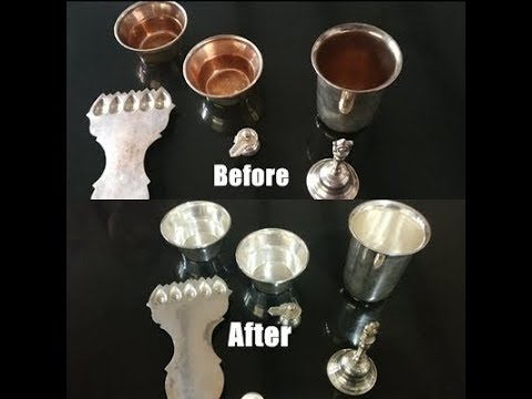 How to clean/polish silver items at home