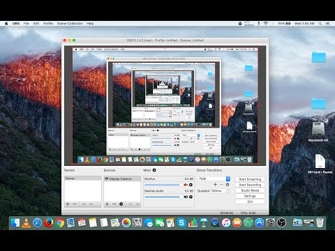 How To Record Screen With Audio On Your Mac (OS X El Capitan)
