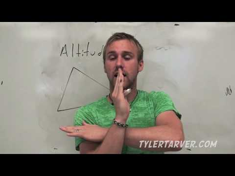 Geometry: 5-3 Medians and Altitudes of Triangles