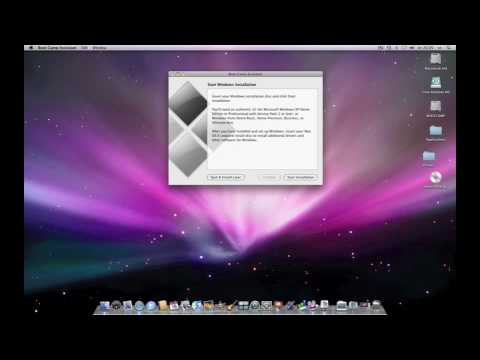 Install Windows XP on a Mac How to