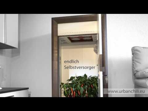 LED Growbox Komplettset by urban Chili - unglaublich diskret