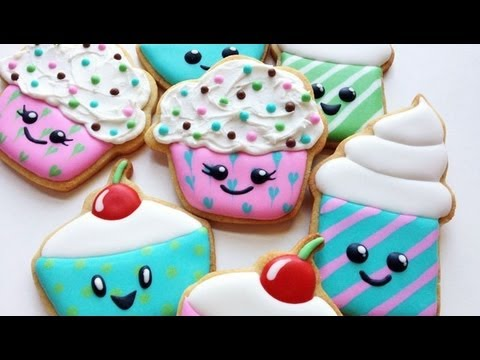 How To Decorate Cupcake Cookies!