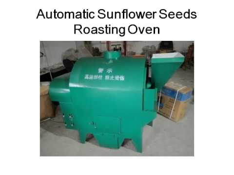 Automatic Sunflower Seeds Roasting Oven