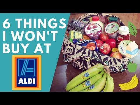 6 Things I WON'T Buy at ALDI - Least frugal things!