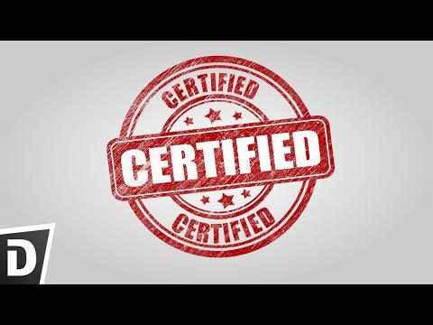Create certified logo in Inkscape
