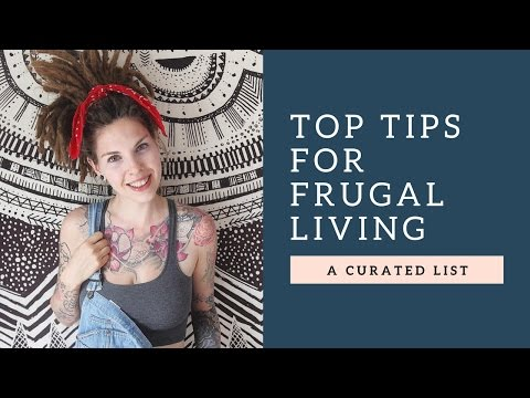 TOP TIPS For Frugal Living (SAVE MONEY! PAY OFF DEBT!)