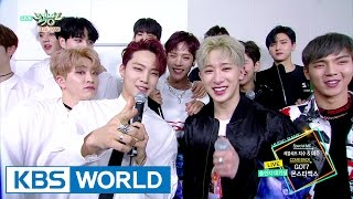 GOT7 and MONSTAX is back!!!!! [Music Bank / 2017.03.24]