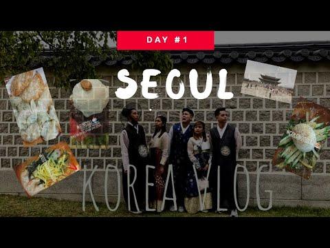 KOREA TRIP VLOG #1: