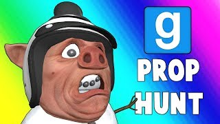 Gmod Prop Hunt Funny Moments - Extremely Early Christmas 2018! (Garry