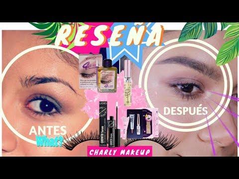 Productos para que CREZCAN CEJAS Y PESTAÑAS | Charly Makeup | Aceite para pestañas Prosa