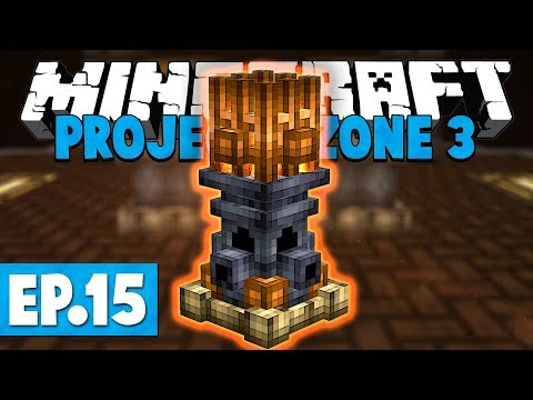 Minecraft Project Ozone 3 | EMBERS! #15 [Modded Skyblock
