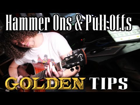 GOLDEN TIPS : EP01 Hammer Ons & Pull Offs Exercise
