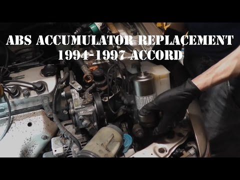 1994-1997 Accord ABS Accumulator Replacement