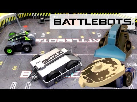 New Hexbug Battlebots: Bronco, Hypershock, Build Your Own