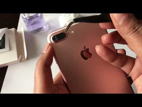 iPhone 7 Plus, 8 plus, X rear camera glass lens cover replacement | Do it yourself tutorial