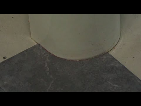 Cutting the curve - How to install tile around a toilet