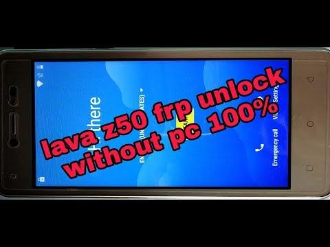 Lava z50 frp unlock