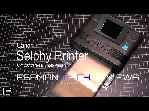 Canon - SELPHY CP1200 Wireless Photo Printer for DIY Photo Booth!