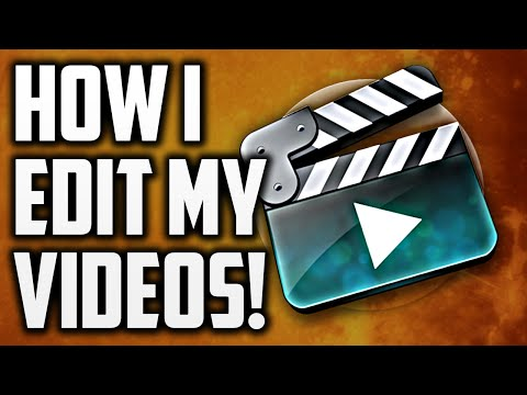 How I Edit My YouTube Videos 2015/2016!