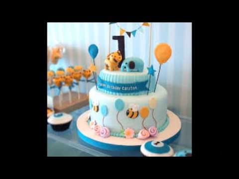 baby boy 1st birthday cake photos
