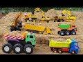 Construction Vehicles For Kids Build Blocks Toys For Animals Park For Children