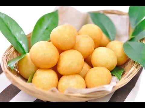 Thai Fried Sweet Potato Balls (Thai Dessert) – Kanom Kai Nok Krata ขนมไข่นกกระทา