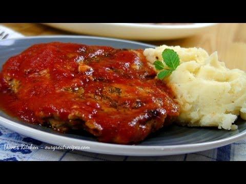 Spiced Pork Chops in Tomato Sauce