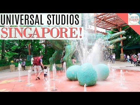 Singapore Sentosa Island and  Universal Studios - Singapore Travel Vlog #8