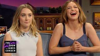 A Pronunciation Guide for Saoirse Ronan & Melissa Benoist