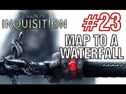 Dragon Age Inquisition - map to a waterfall - Walkthrough Part 23